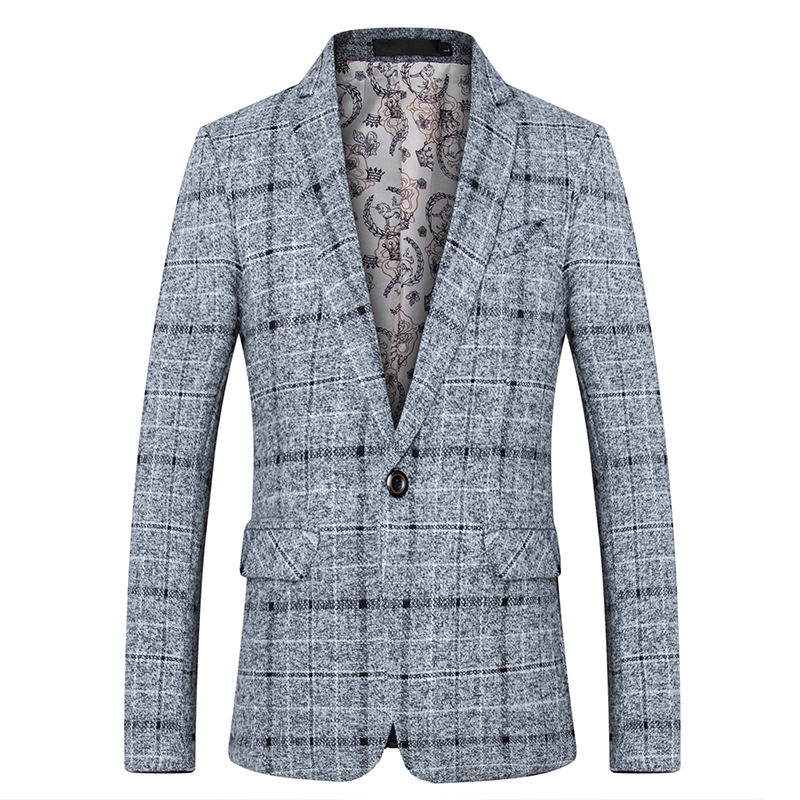 Fashion Spring Suit Brand 2018 New Arrival Clothes Men Blazer Fashion Slim Male Suits Casual ASIAN Size M-5XL