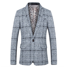 Fashion Spring Suit Brand 2018 New Arrival Clothes Men Blazer Fashion Slim Male Suits Casual ASIAN Size M-5XL