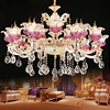 Living Room Lights Luxury Crystal Chandeliers Lighting Gold Chandelier Lamp Modern Led Chandelier Lighting Hanging Lights
