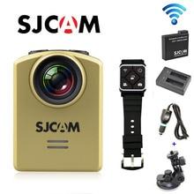 Бесплатная Доставка! Оригинальный SJCAM M20 Wi-Fi гироскопа 4 К 24fps мини Действие Спорт Камера + дополнительная Батарея + Dual-Зарядное устройство + автомобиль Зарядное устройство + автомобильный держатель
