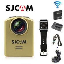 Envío Libre!! M20 Original SJCAM Wifi Gyro 4 K 24fps Mini Acción Del Deporte de La Cámara + Batería Extra + Dual-Cargador + Cargador de Coche + soporte para Coche