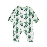 Newborn Toddler Baby Boys Girls Cactus Print Romper Jumpsuit Outfits Clothes Long Sleeve Jumpsuit Playsuit Outfit  30