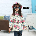 The Cow Boy Down Clothing Cotton Padded Children Coat girls parka