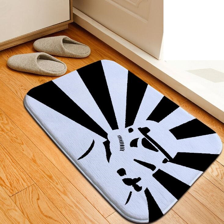 Aliexpress Com Buy Custom Bath Mat Star Wars Diy Printed Floor Mat