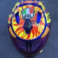 Fashion full face helmet motorcycle in the summer seasons casque moto casco man anti fog helmet's with clear lens