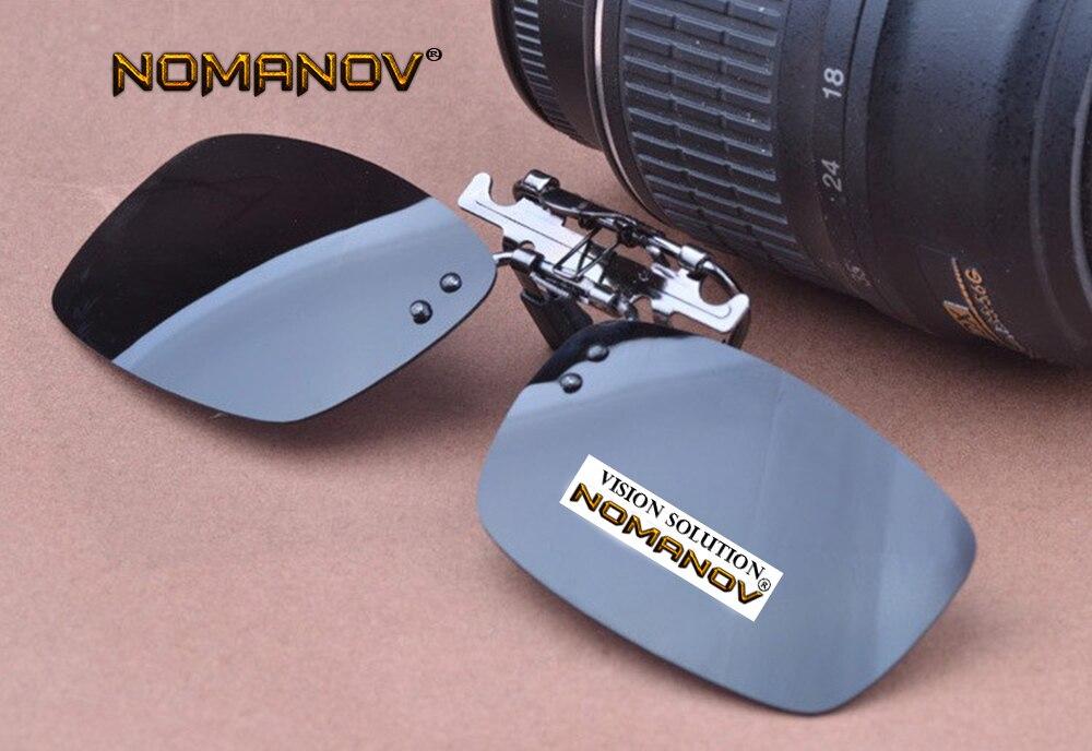 NOMANOV BRAND summer style sunglasses New ALLOY polarizing clip Men s polarized sunglasses UV 400