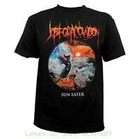 Mannen Volwassen Slim Fit T-shirt S-xxl Indiemerch Baan Voor een Cowboy Band Zon Eater Album Cover Art T-shirt S-2xl nieuwe