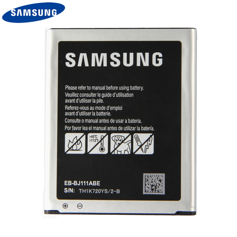 Original Replacement Phone <font><b>Battery</b></font> EB-BJ111ABE For <font><b>Samsung</b></font> Galaxy <font><b>J1</b></font> J <font><b>Ace</b></font> J110 SM-J110F J110H J110FM 4G version <font><b>Battery</b></font> 1800mAh image