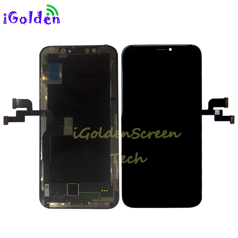 2017 NEW High Quality SUPER AMOLED Replacement For iPhone X LCD Display With Touch Screen Digitizer