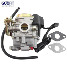 GOOFIT GY6 50cc 60cc 80cc Scooter Carburetor Carb 4 Stroke Moped ATV Group-91