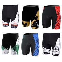 New Arrival Cycling Shorts Mens Cycling Shorts Riding Bicycle Ropa Ciclismo Bike 3D Padded Coolmax Gel Shorts Fitness Size S-4XL