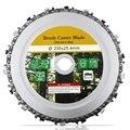 9-дюймовый шлифовальный диск и цепи изящно отделанный цепи комплект для 235X25,4 мм угловой шлифователь