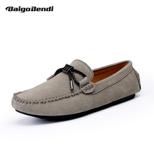 US 6-10 5 Colors Men Loafer Shoes Casual Slip On Driving Boat Man Spring Leisure