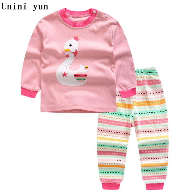 2017 Children's clothing set cartoon T-shirt + shorts 2pcs/set baby boy's suit set Kids Long sleeve cotton 6M-6T baby girls suit