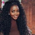 Фронта шнурка Человеческих Волос Парики 250% Плотность Полный Шнурок Человеческих Волос парики Для Чернокожих Женщин Бразильский Сыпучих Природных Вьющиеся Передний Парик Шнурка