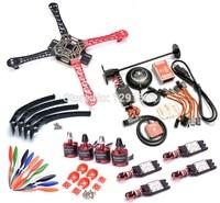 F450 HJ450 Quadcopter Frame Kit Naza M Lite Flight Controller Board W PMU LED Cables Ublox