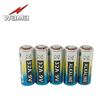 5pcs/lot WAMA 32A 9V Primary Dry Batteries LR32 29A L822 Alkaline Battery for Car Key Remote Control Industrial Packing