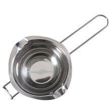 Нержавеющая сталь шоколадный сыр плавильный горшок Сковорода чаша DIY Аксессуары Инструмент PAK55