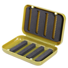 Durable Plastic Fishing Lure Bait Tackle Box  Waterproof Storage Box Case Fly Fishing Tackle Box