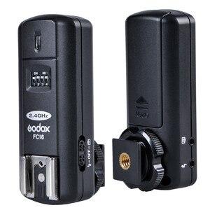Image 3 - Godox FC 16 2.4G اللاسلكية عن بعد فلاش الزناد 16 قنوات ل بنتاكس K 1 K 3 K 3II K5 K 5 IIs K 30 K 50 K20D K100D K110D cs 205