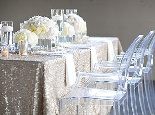 Marvelous SILVER SEQUIN TABLECLOTH, Silver Wedding Tablecloth, Silver Glitter  Tablecloth, Silver Sparkly Tablecloth,(48u0027u0027*72u0027u0027) R In Tablecloths From  Home U0026 Garden On ...