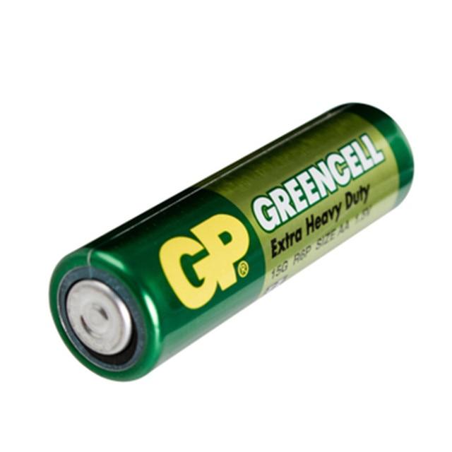 16 шт. оптовая продажа GP greencell AA Батарея 1.5 В 3500 мАч 15 г R6P Батареи Бесплатная доставка