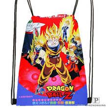 Custom dragon_ball_@1 Drawstring Backpack Bag Cute Daypack Kids Satchel (Black Back) 31x40cm#2018611-1(13)