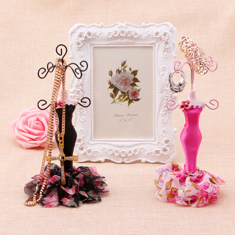 Popular earring display mannequin buy cheap earring for Lady mannequin jewelry holder