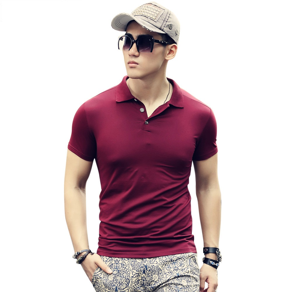 Beswlz-New-Men-s-Tops-Polo-Shirts-Summer-Short-Sleeve-Turn-down-Collar-Cotton-Slim-Classical (1)