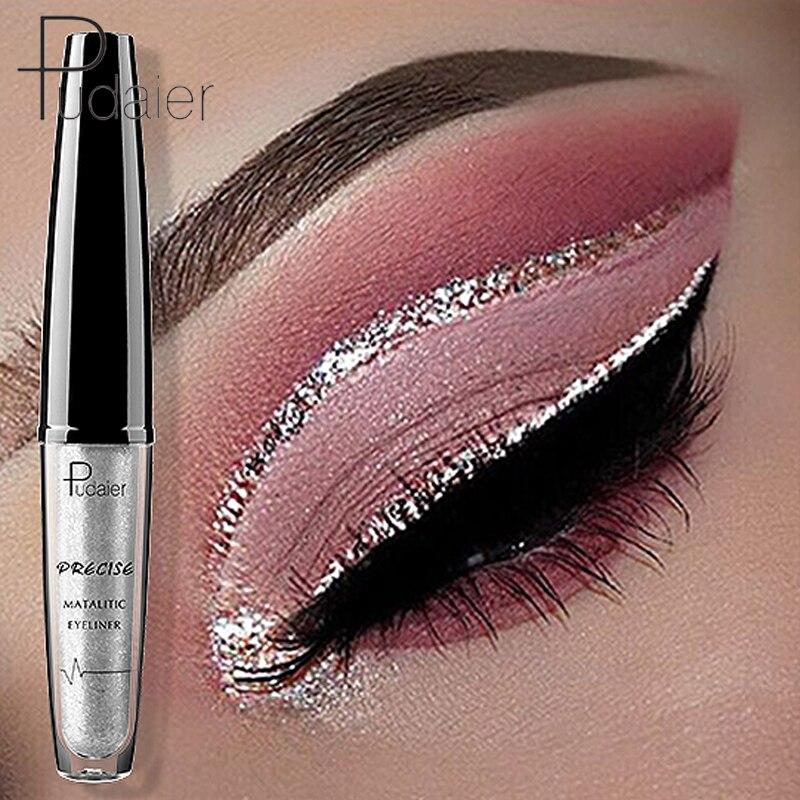 Pudaier Brand 2018 New Liquid Shiny Eyes Liner Pencil Waterproof