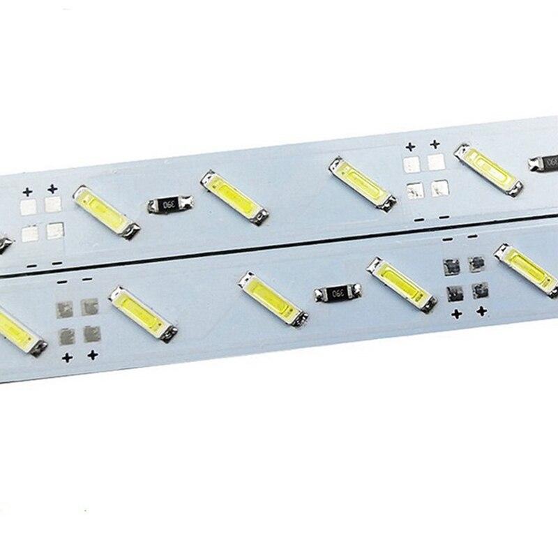 New Arrival 7020 smd led bar light High brightness led rigid light 72leds/meter 12V for indoor counter lamp comercial decoration