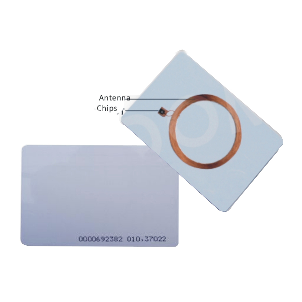 Best buy ) }}100pcs Id card thin ID access control card 125KHZ TK4100 white RFID card size