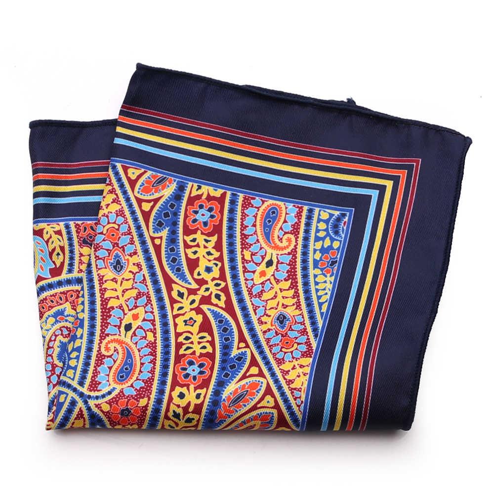 99fb6c1c27d96 ... Tailor Smith New Designer Pocket Square Fashion Handkerchief Dot  Paisley Floral Plaid Style Hanky Mens Suit ...