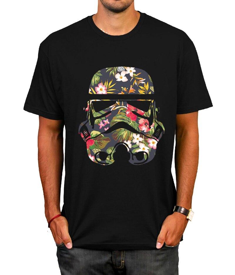 star wars darth vader face T Shirt mask cotton short sleeve camiseta casual o-neck mens t-shirt