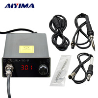 T12 Digital Soldering Iron Station STM8 Controller Compatible 936 Heating Core Thermostatic Automatic Sleep 72W EU