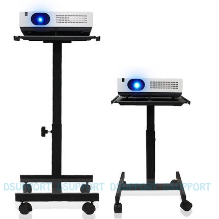 Z05 Projector/ Speaker Stand Trolley With Tray And 360 Degree Universal Wheel mp620 mp622 mp625 projector color wheel mp620 mp622 mp625