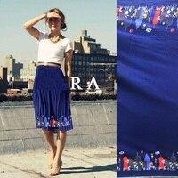 Marchio spagnolo importato panno di tessuto di cotone posizionamento città del fumetto DIY materiale di abbigliamento di moda