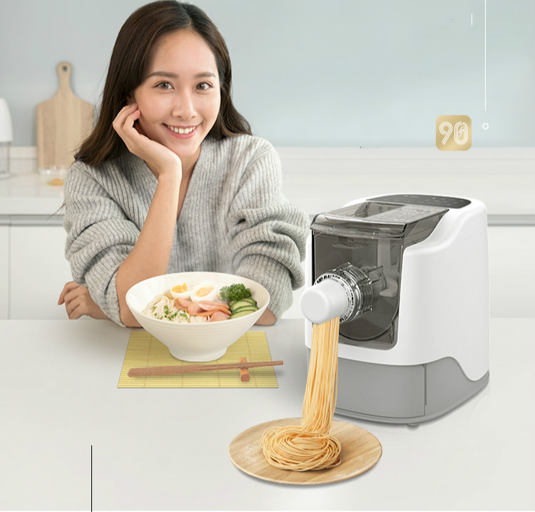 Noodle maker Full automatic electric dumpling skin with multi-function vertical and small pressure surface homeleader 7 in 1 multi use pressure cooker stainless instant pressure led pot digital electric multicooker slow rice soup fogao