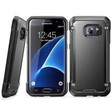 Per Samsung Galaxy Caso di S7 SUPCASE UB Serie Del Respingente di TPU + PC Hybrid Premium di Protezione di Caso Della Copertura Posteriore Con Vendita Al Dettaglio cornici e articoli da esposizione