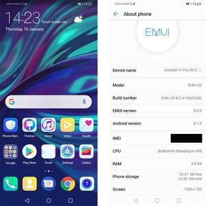Image 4 - הגלובלי הקושחה Huawei ליהנות 9 Huawei Y7 פרו 2019 MobilePhone 6.26 אינץ Snapdragon 450 אוקטה Core אנדרואיד 8.1 פנים נעילה 4000mAh