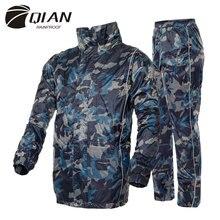 Home Garden - Household Merchandises - Raincoats,Camouflage Rainsuits For Adults,outdoor Sportswear,Heavy Water Gear,waterproof,thicker