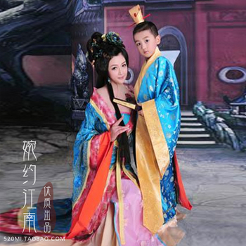 You Zi Yin Tang Dynasty Prince and Empress Costume Parent-Child Costume Sets Mother-Son Stage Clothing you zi yin tang dynasty prince and empress costume parent child costume sets mother son stage clothing