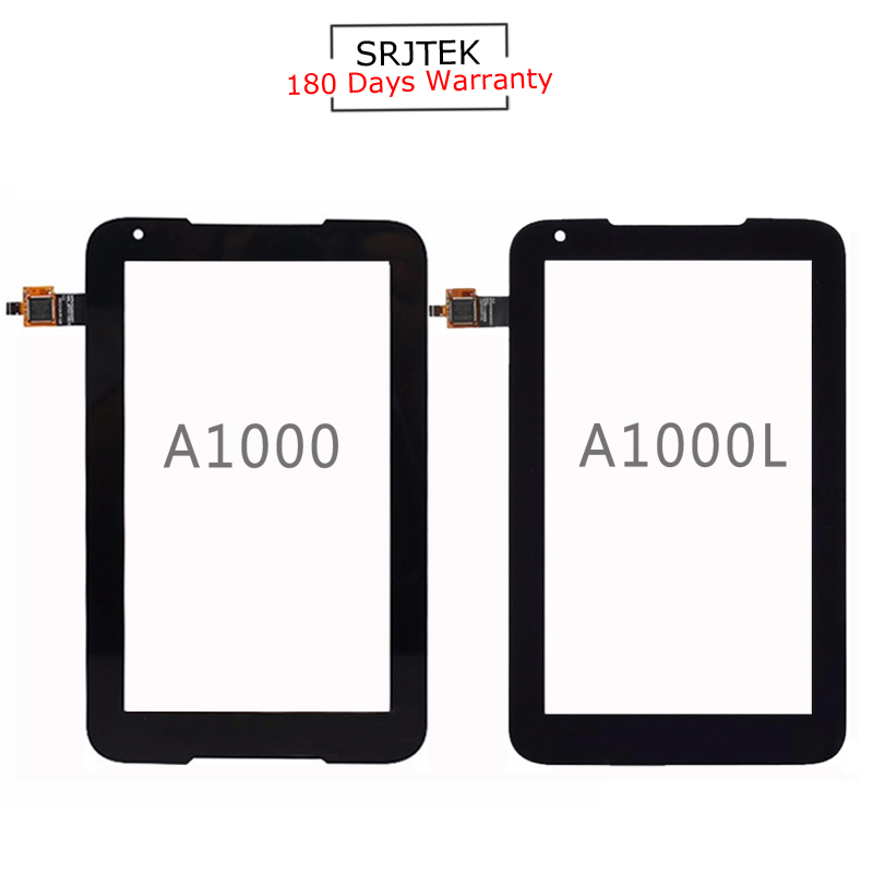 For New Lenovo IdeaTab A1000 A1000L Replacement Touch Screen Digitizer Glass Black 7-inch replacement touch screen digitizer glass for lg p970 black