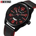 CURREN 8236 Sport Wrist Watch Men Watches Top Brand Luxury Quartz Leather Strap Male Army Military Wrist Watch Relogio Masculino