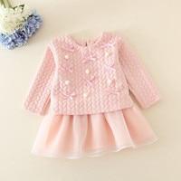 Princess Girl Dress Long Seelve Birthday Dress Birthday Gift Dress Kid Party Wear Dresses For Girls