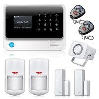 G90B IOS Android APP Control Security Alarm System WiFi Alarm System Home GSM GPRS Burglar Alarm
