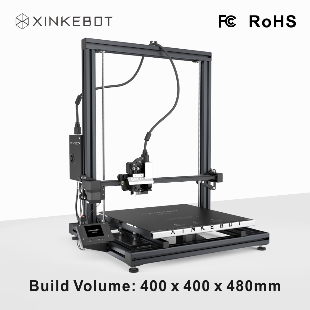 XINKEBOT Impressora i4 Big Format 3D Printer Orca2 Cygnus Double Extruder with Choice Filament