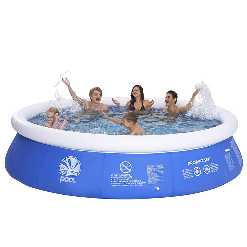Portable Family Big Swimming Pool 120cm-360cm Piscina Eco-friendly PVC Inflatable Children Basin Bath Tub Kids Summer Playground environmentally friendly pvc inflatable shell water floating row of a variety of swimming pearl shell swimming ring