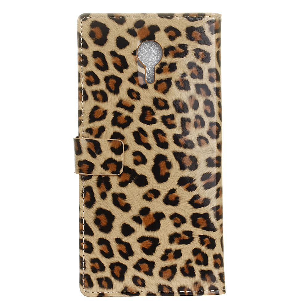 Wallet Case for Vodafone Smart N9 Lite 5.34 Phone case Sexy Leopard Print Leather Flip Stand PU Soft Back Cover Panther