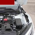 2 шт. передняя крышка двигателя поддержка амортизаторов для Civic 10th 2016 2017 2018 2019 стержень гидравлический капот аксессуары